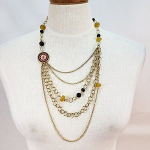 Lucky Brand Bohemian Style Necklace
